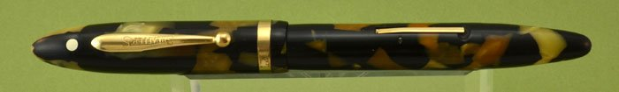 Sheaffer Balance Lifetime Fountain Pen 1930s - Full Size, Black & Pearl