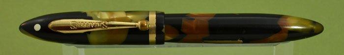 Sheaffer Balance Lifetime Petite Fountain Pen - 1930s, Black & Pearl
