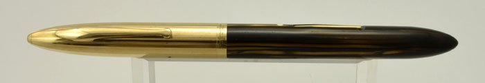 Sheaffer Crest Fountain Pen -  Early Lever Filler, Brown Striated