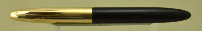 Sheaffer Crest Deluxe Fountain Pen - Black, Vac-Fil