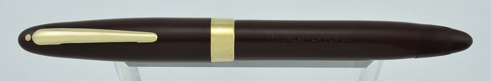 Lifetime Triumph Statesman in brown, Vac-fill Piston filling system, two-tone Sheaffer Lifetime Triumph nib
