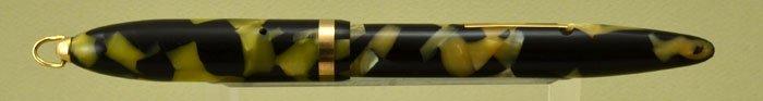 Sheaffer Balance Lifetime 1930s - Full Size Ring Top, Black & Pearl