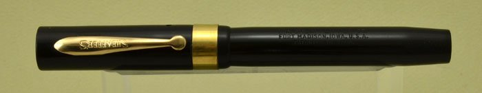 Sheaffer Flat Top - Late 1930s, Black Radite, Junior