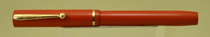 Sheaffer Flat Top 3-25 1930 - Orange, Full Size
