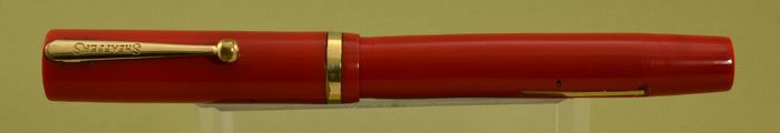Sheaffer Flat Top Secretary - Cherry Red
