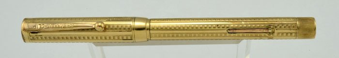 Sheaffer Flat Top Self Filling #3 - 1920s, Gold Filled