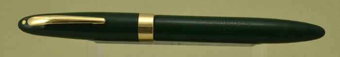 Sheaffer Statesman Fountain Pen - 1949, Green, Fat TD Version