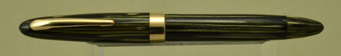 Sheaffer Triumph 1000 Lifetime Fountain Pen - Vac-Fil, Green Striated