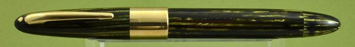Sheaffer Triumph 1250 Lifetime Fountain Pen - Vac-Fil, Green Striated