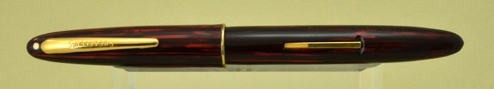 Sheaffer Triumph Sovereign II Fountain Pen - 875, Carmine Striated