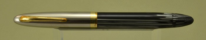 Sheaffer Triumph Sentinel DeLuxe Fountain Pen - Grey Striated, Vac-Fil