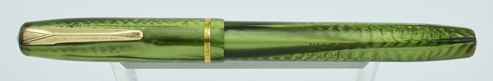 Sheaffer sub-brand Wasp Addipoint, Green, with flexible Wasp #233 nib