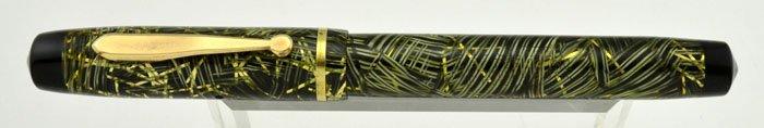 Sheaffer Sub-brand WASP Clipper - 'Lahn' Green Metallic Web