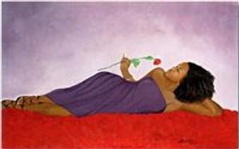Bed of Roses Art Print - Michael Bailey
