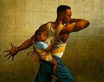 Definition of a Man  Art Print - JC Bakari