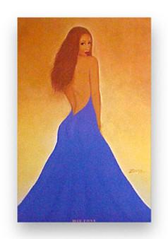 Blue Zone  Art Print - Michael Bailey