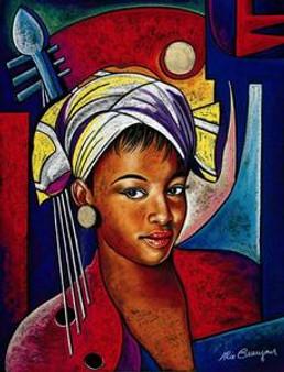 Music in my Eyes Art Print - Alix Beaujour