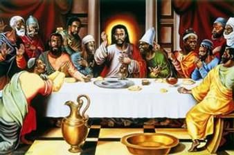 Last Supper Art Print - Alix Beaujour