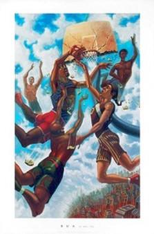 In the Sky Art Print - Justin Bua