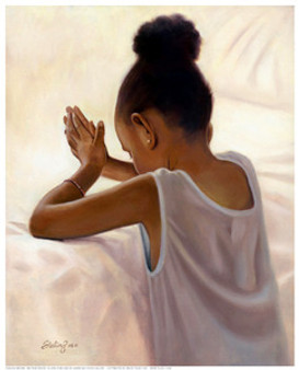 Bedtime Prayer(8 x 10) Art Print - Sterling Brown