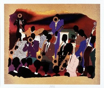 Big Band Art Print - Leroy Campbell