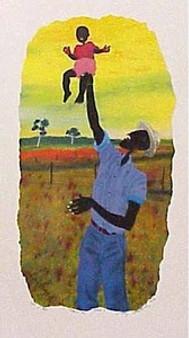 Raising Cane Limited Edition Art Print - Leroy Campbell