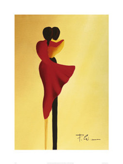 Les Amoureux (31.5 x 23.6in) Art Print - Patrick Ciranna