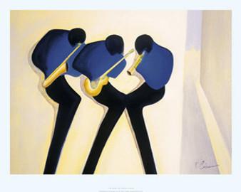 The Blues Art Print - Patrick Ciranna