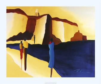 The Divide Art Print - Patrick Ciranna