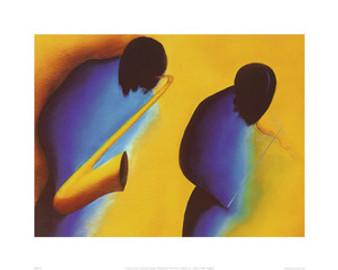 In Tune (23.6 x 31.5in) Art Print - Patrick Ciranna