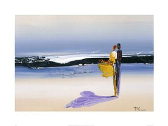 Sea Breeze (15.7 x 19.7in) Art Print - Patrick Ciranna