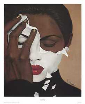 Face Reality Art Print - Laurie Cooper