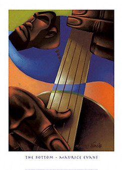 The Bottom Art Print - Maurice Evans