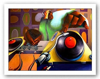 The Spin Doctor Art Print - Maurice Evans