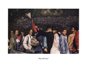 They All Came Art Print - Tim Hinton