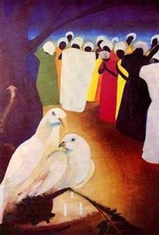 Peace Offering Limited Edition Art Print - Bernard Hoyes