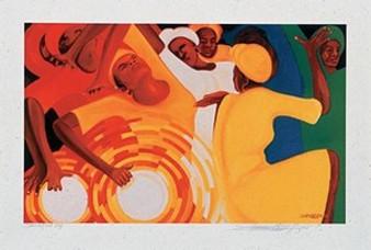 Sanctified Joy (open/signed) Art Print - Bernard Hoyes