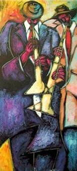 Competition Art Print - Kennith Humphrey