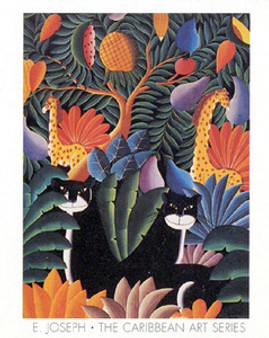 Panthers Art Print - Emmanuel Joseph