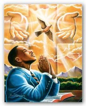 The Power of Prayer Art Print - Lester Kern