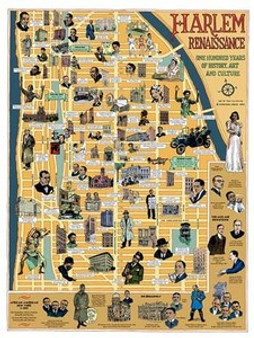 The Harlem Renaissance Art Print - Tony Millionare