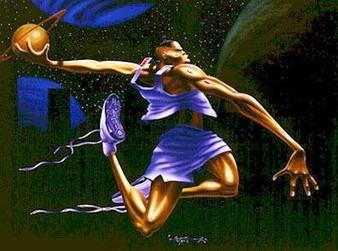 Cosmic Fling Art Print - Kadir Nelson