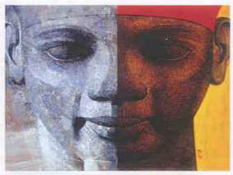 Ramses II Art Print - Carl Owens