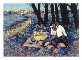 Floral Engagement Limited Edition Art Print - Johnice Parker