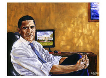 Obama, Historical Journey Art Print - Andrew Nichols