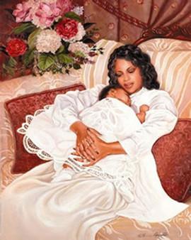 My Angel Art Print - Katherine Roundtree