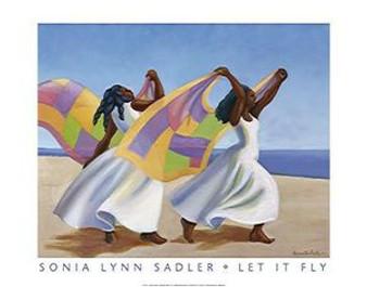 Let It Fly Art Print - Sonia Sadler