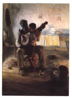 Banjo Lesson Art Print - Henry O. Tanner