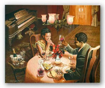 Enchanted Evening Art Print - Edward Clay Wright