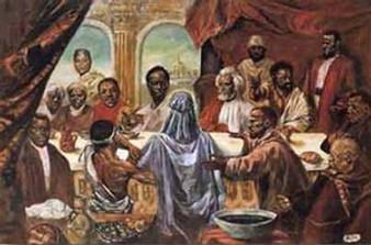 Last Supper - Large  Art Print - Cornell Barnes